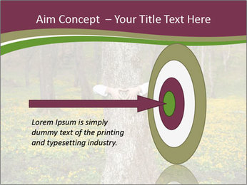 Tree in forest PowerPoint Template - Slide 83