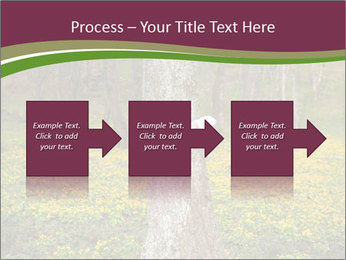 Tree in forest PowerPoint Template - Slide 88