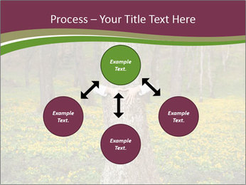 Tree in forest PowerPoint Template - Slide 91