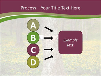 Tree in forest PowerPoint Template - Slide 94