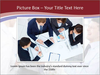 Portrait of happy businessmen PowerPoint Template - Slide 16