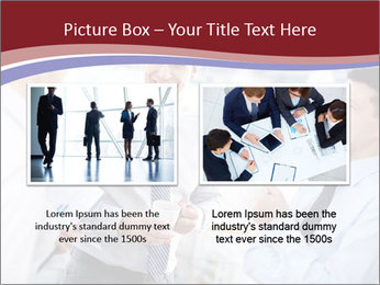 Portrait of happy businessmen PowerPoint Template - Slide 18