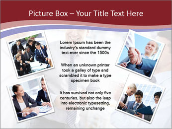 Portrait of happy businessmen PowerPoint Template - Slide 24