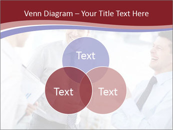 Portrait of happy businessmen PowerPoint Templates - Slide 33