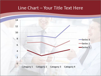 Portrait of happy businessmen PowerPoint Template - Slide 54