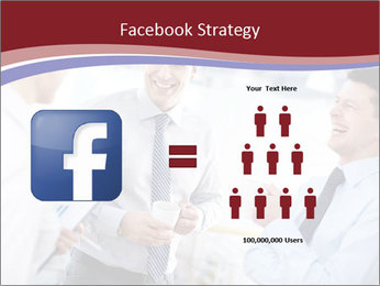 Portrait of happy businessmen PowerPoint Templates - Slide 7
