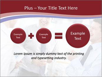 Portrait of happy businessmen PowerPoint Templates - Slide 75