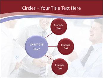Portrait of happy businessmen PowerPoint Templates - Slide 79