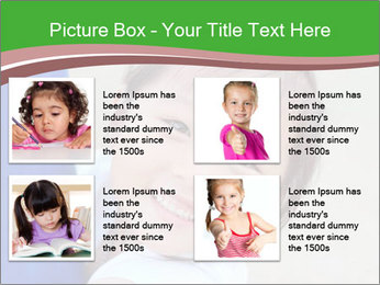 Smile asian girl PowerPoint Template - Slide 14