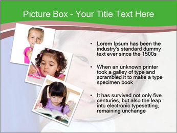 Smile asian girl PowerPoint Template - Slide 17