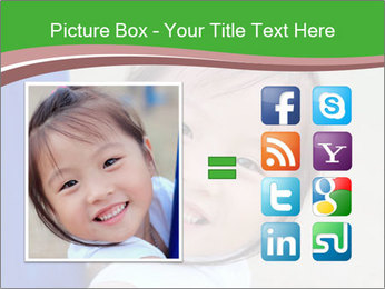 Smile asian girl PowerPoint Template - Slide 21