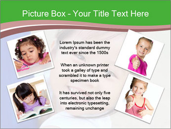 Smile asian girl PowerPoint Template - Slide 24