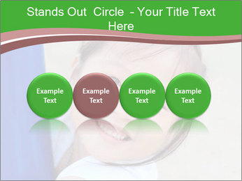 Smile asian girl PowerPoint Template - Slide 76