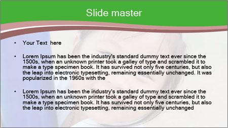 Smile asian girl PowerPoint Template - Slide 2