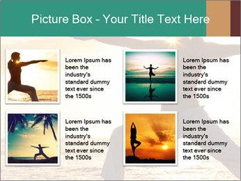 Beautiful Yoga PowerPoint Template - Slide 14