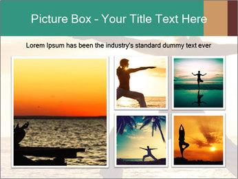 Beautiful Yoga PowerPoint Template - Slide 19