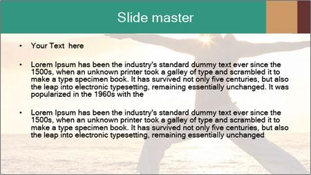 Beautiful Yoga PowerPoint Template - Slide 2