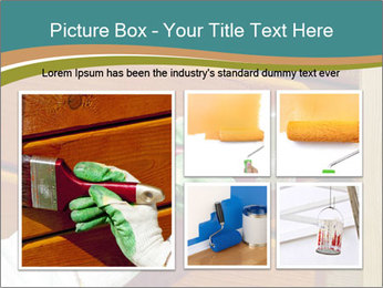 Hand painting wooden PowerPoint Templates - Slide 19