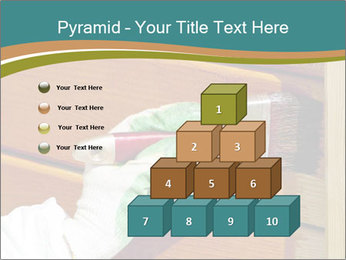 Hand painting wooden PowerPoint Templates - Slide 31