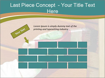 Hand painting wooden PowerPoint Templates - Slide 46
