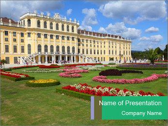 Vienna PowerPoint Template - Slide 1