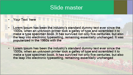 Vienna PowerPoint Template - Slide 2