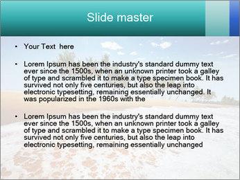 Beach PowerPoint Template - Slide 2
