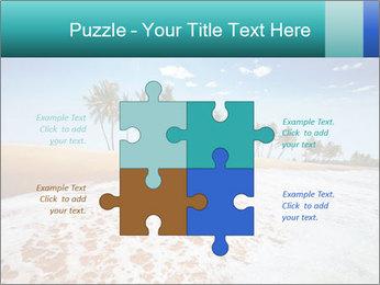 Beach PowerPoint Template - Slide 43
