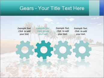 Beach PowerPoint Template - Slide 48