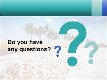 Beach PowerPoint Template - Slide 96