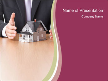 Real estate concept PowerPoint Template - Slide 1