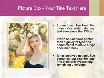 Beautiful blonde PowerPoint Templates - Slide 13