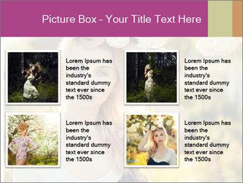 Beautiful blonde PowerPoint Template - Slide 14