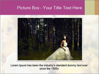 Beautiful blonde PowerPoint Template - Slide 16