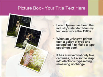 Beautiful blonde PowerPoint Templates - Slide 17