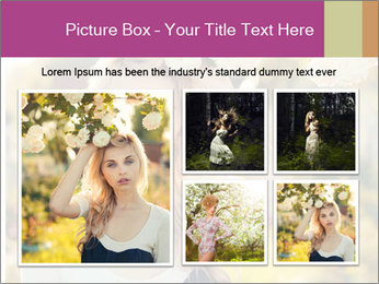 Beautiful blonde PowerPoint Templates - Slide 19