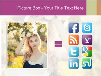 Beautiful blonde PowerPoint Template - Slide 21