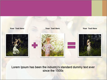 Beautiful blonde PowerPoint Templates - Slide 22