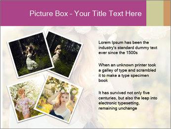 Beautiful blonde PowerPoint Template - Slide 23