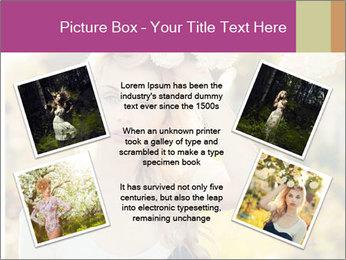 Beautiful blonde PowerPoint Template - Slide 24