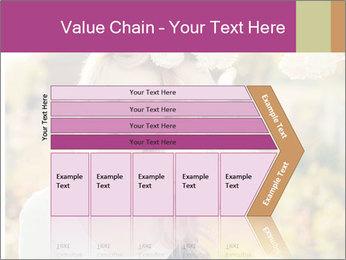 Beautiful blonde PowerPoint Template - Slide 27