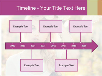 Beautiful blonde PowerPoint Templates - Slide 28