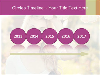 Beautiful blonde PowerPoint Template - Slide 29