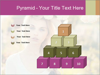 Beautiful blonde PowerPoint Templates - Slide 31