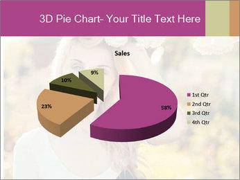 Beautiful blonde PowerPoint Template - Slide 35