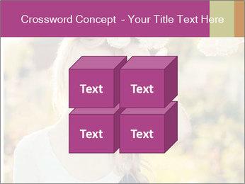 Beautiful blonde PowerPoint Template - Slide 39