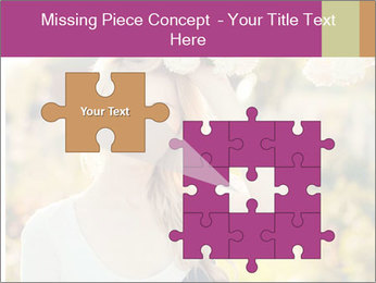 Beautiful blonde PowerPoint Template - Slide 45