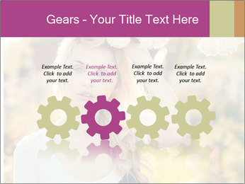 Beautiful blonde PowerPoint Templates - Slide 48