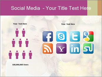 Beautiful blonde PowerPoint Template - Slide 5