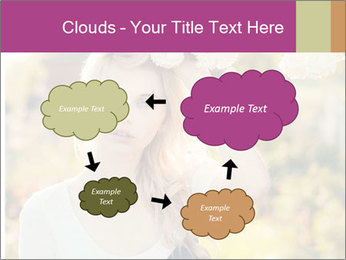 Beautiful blonde PowerPoint Template - Slide 72